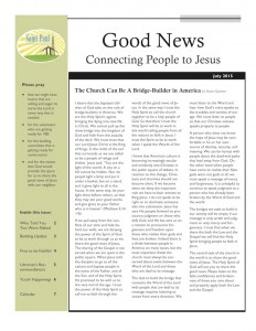July 15 Newsletter for the web cover