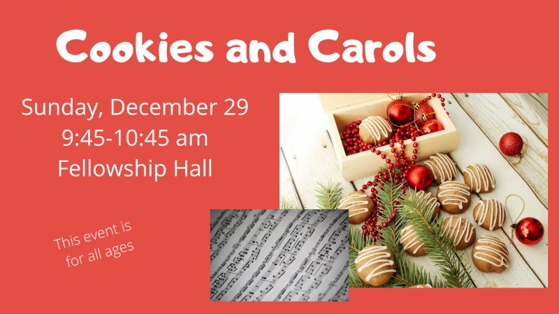 Cookies and Carols